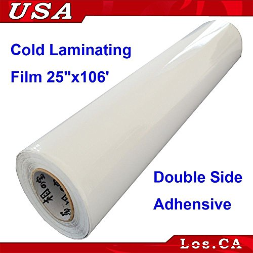 Double Sided Adhensive Pressure Sensitive Laminating Mount Film 25