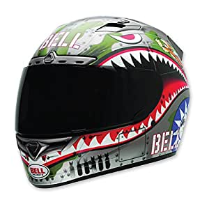 Bell Vortex Unisex-Adult Full Face Street Helmet (Flying Tiger, Small) (D.O.T.-Certified)