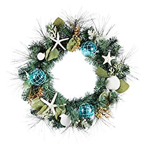 510HKRPSlPL._SS300_ 70+ Beach Christmas Wreaths and Nautical Wreaths