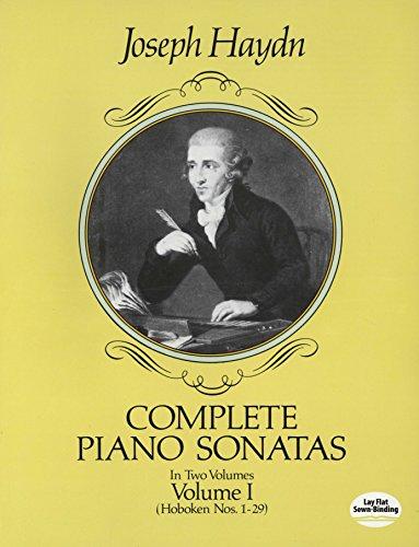 Complete Piano Sonatas, Vol. 1: Hoboken Nos. 1-29 (Haydn Piano Sheet Music)