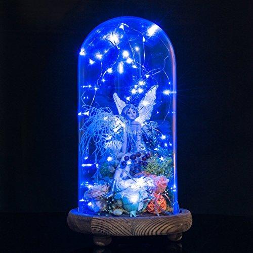 20 LED Copper Wire Starry String Lights, 7.2 Feet, 6 Pack (Blue) Desertcart