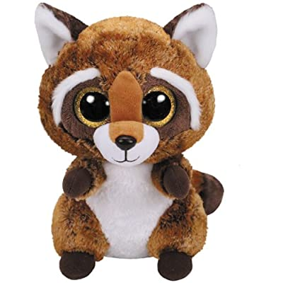 Ty–Rusty Plush Raccoon (United Labels Iberian 36422ty): Toys & Games