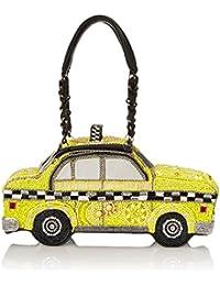 Taxi Clutch Top Handle Bag