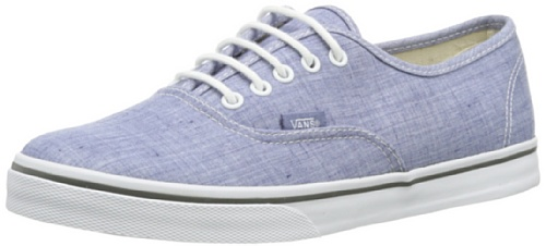 Vans U AUTHENTIC LO PRO  (CHAMBRAY) BLUE - Zapatillas de lona unisex azul - Blau ((Chambray) blue)