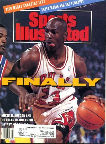 Sports Illustrated June 3 1991 Michael Jordan/Chicago Bulls Cover - Reach NBA Finals, Rick Mears Winds Indy 500, LA Lakers, Mario Lemieux/Pittsburgh Penguins Win Stanley Cup, Oil Can Boyd/Montreal - Cup Stanley 1991