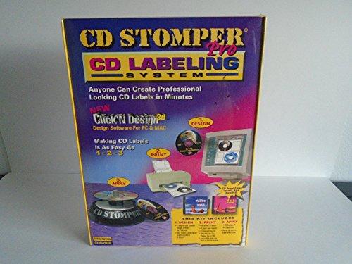 (Avery Stomper Pro Inkjet/Laser CD Label Kit, 98107)