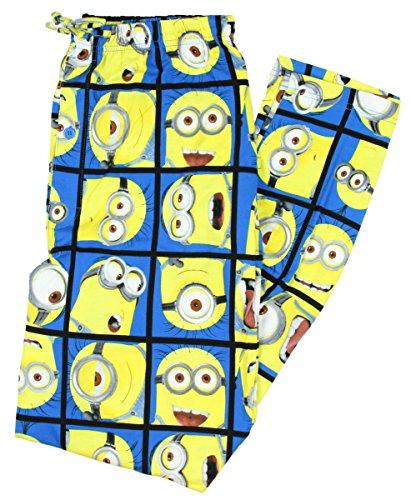 Despicable Me Minion Blocks Knit Graphic Sleep Lounge Pants -