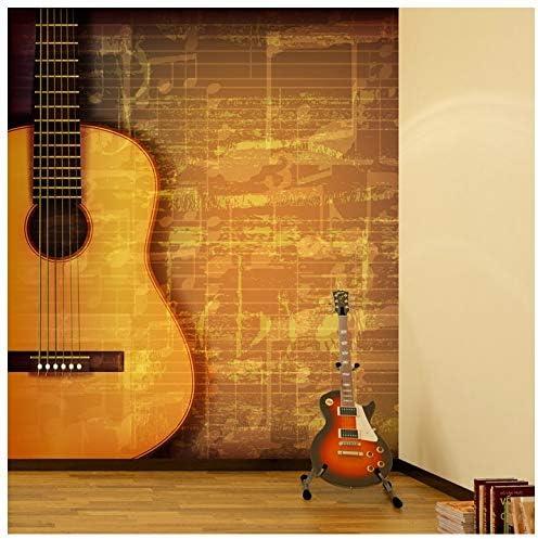 azutura Hoja de Guitarra y Música Fotomurales Música del Vintage ...