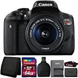 Canon EOS Rebel T6i Digital SLR Camera with 18-55mm IS STM Lens and Accessory Kit