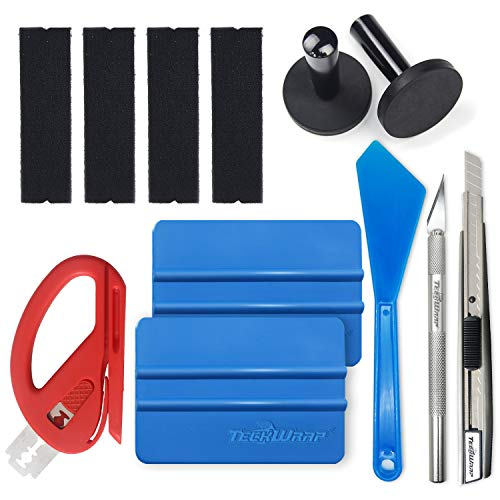 TECKWRAP Vinyl Wrap Install Tool Kit for Car Wrapping, Craft Cutting - Wrapping Kit
