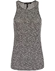 Rag & Bone Gray Ribbed Tank