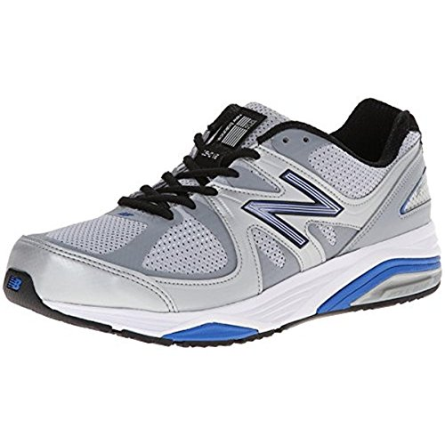 New Balance Men's M1540V2 Running Shoe, Silver/Blue, 12.5 2E...