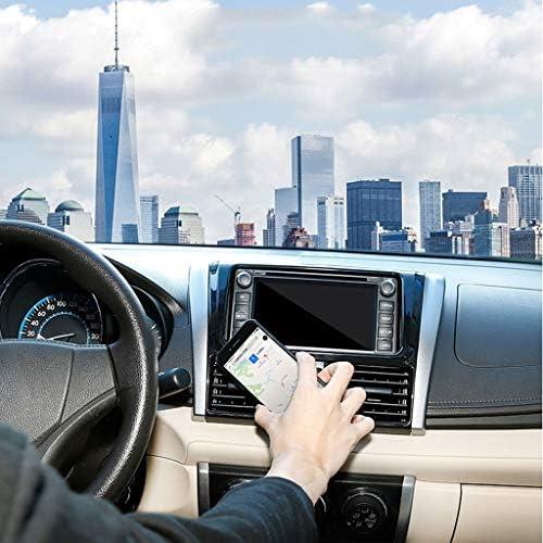 360度の回転磁気携帯電話のホールダー、空気出口車の吸引のコップの携帯電話のホールダー (色 : Silver-b)