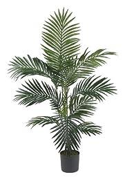 Nearly Natural 5295 Kentia Palm Silk Tree, 4-Feet, Green
