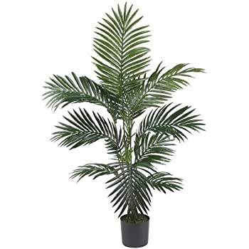 Nearly Natural 5295 4ft. Kentia Palm Silk Tree