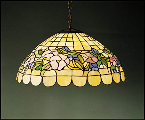 Tiffany Light Grapevine Three - Meyda Tiffany 31137 Three Light Ceiling Fixture