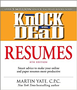 knock em dead resumes features the latest information on online