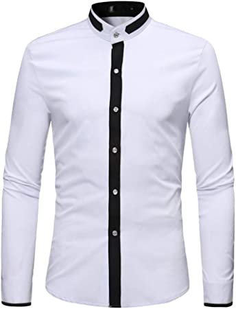 CHENS Camisa/Casual/Unisex/L Camisas para Hombres Camisa de ...
