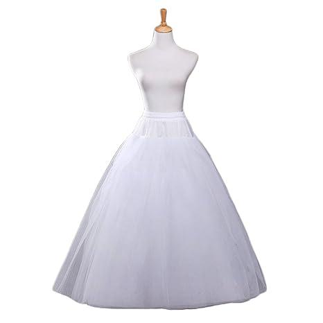 3eb6b17d7221a Vivian's bridal Women's White A-line Wedding Accessories Petticoat  Underskirt Slips