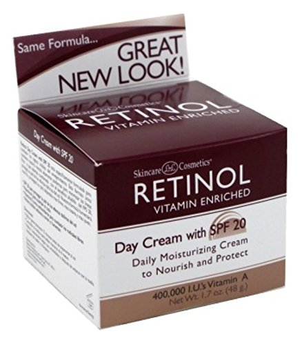 Skincare Retinol Day Cream Spf#20 1.7 Ounce (50ml) (2 Pack)
