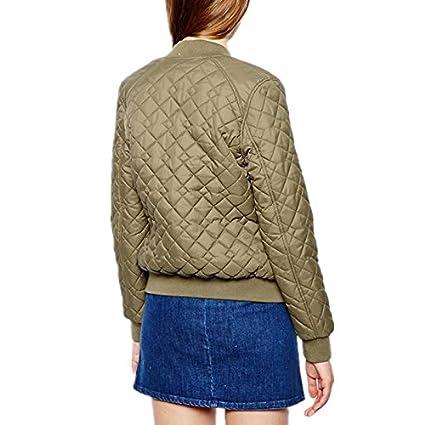 Rhouqujinh Women Jacket Pink Army Green Jackets Women Chaquetas Mujer Coat Women at Amazon Womens Coats Shop