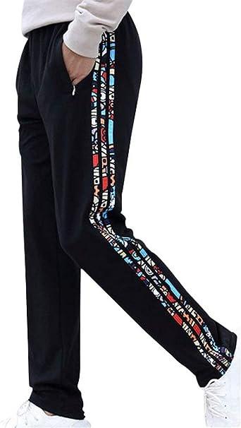 Pantalones De Algodón De Los Joggers Pantalones Hombres ...