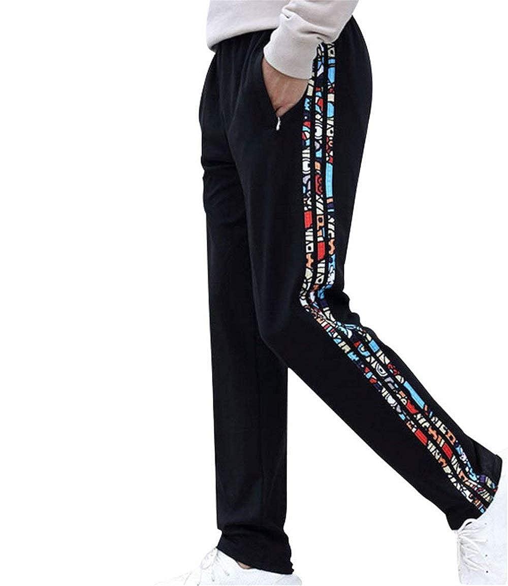 Elodiey Pantalones De Chándal Hombres Otoño Pantalones Colores ...