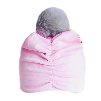 Bonnet Bébé, Tout-Petits Enfants Garçon Fille Solide Venonat Turban Beanie  Head Porter Poils Chapeau (A)  Amazon.fr  Vêtements et accessoires b03707e36b3