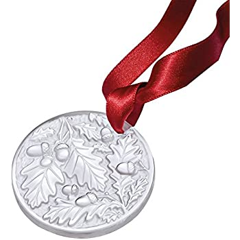 Amazon.com: Lalique 2018 Annual Christmas Ornament, Clear ...