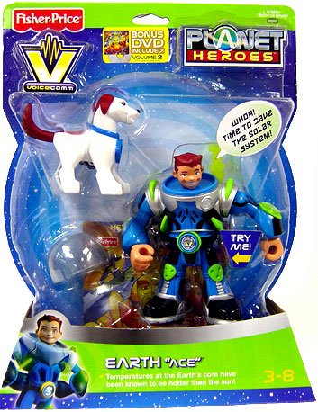 Fisher-Price Planet Heroes Voice Comm Earth