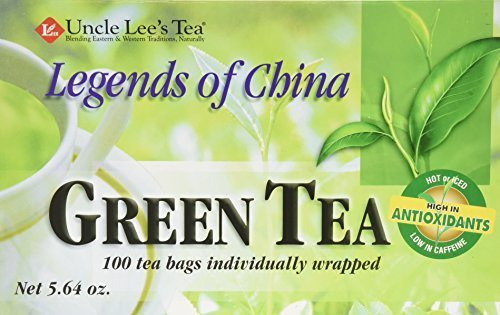 Uncle Lee's Legends of China Green Tea - 100 Tea Bags by Uncle - Shopping Legends Mall