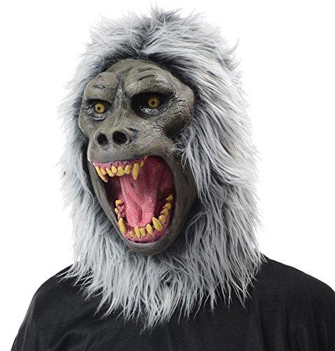 Baboon Latex Mask Adult (Baboon Latex Mask)