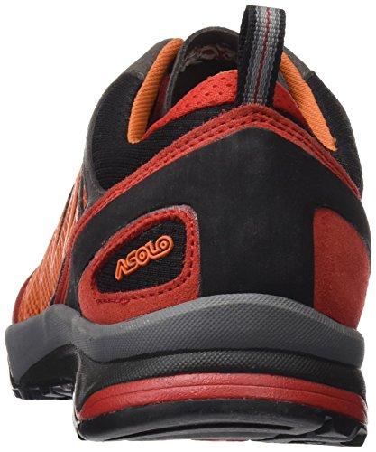 Asolo Blade GV mm, Scarpe da Arrampicata Basse Uomo rosso / nero