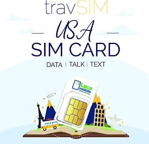 Travsim Usa Sim Karte Gültig Für 30 Tage 5gb 3g 4g Elektronik