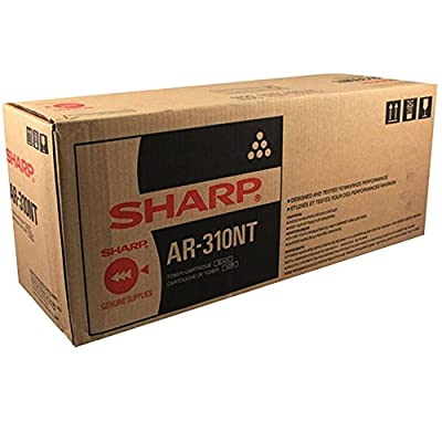 2 Pack Original Sharp AR-310NT/ AR-310MT Black Toner Cartridge - Retail