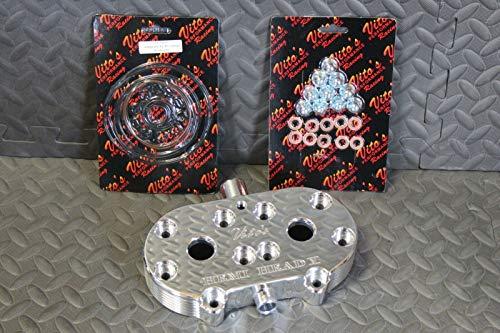 (Vito's Hemi Head Aftermarket Billet Aluminum Cool 1987-2006 Banshee/Head Nuts)