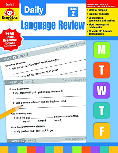 Daily Language Review, Grade 2 (Daily Practice Series) ()