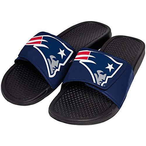 FOCO NFL New England Patriots Unisex Big Logo Slide-Big Logo Slde, New England Patriots, Large ()