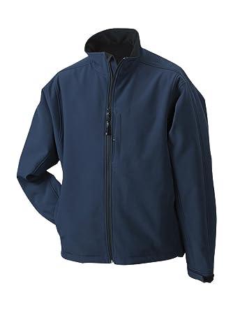 James & Nicholson JN135 Mens Softshell Jacket navy Size S