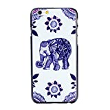For IPod Touch 5 , Leathlux Elephant & Flowers Style Slim Skin Protective Plastic Hard Case Rear Cover Protector Bumper Fit for IPod Touch 5 5th 5G GEN