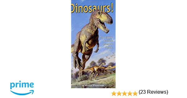 Dinosaurs Howard Zimmerman Various Amazoncom - 23 of the strangest books to ever appear on amazon