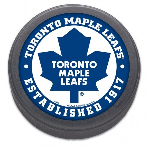 NHL Toronto Maple Leafs Hockey Puck