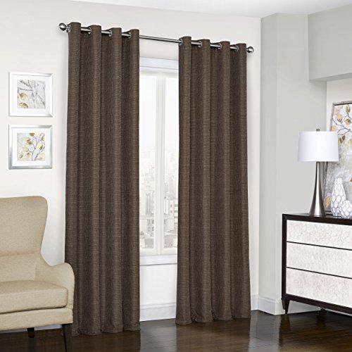 Eclipse 16404052063CHC Trevi Blackout Grommet Window Curtain