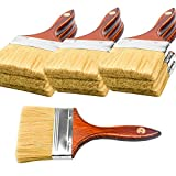 10PCS Chip Brushes Bulk Paint Brushes 4 inch for Paint, Stains, Varnishes, Glues