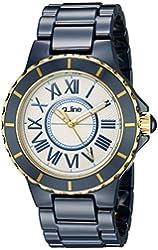a_line Women's 20040-WWWRR Marina Blue Ceramic Watch