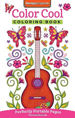 Color Cool Coloring Book: Perfectly Portable Pages (On-the-Go! Coloring Book) (Cool Colours)