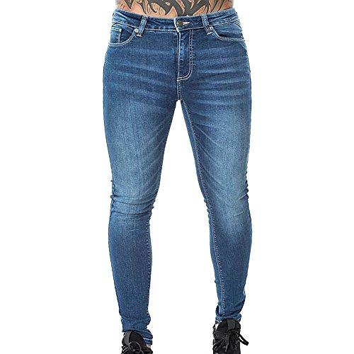 11 Degrees - Jeans - Skinny - Femme Bleu Bleu Mid Blue