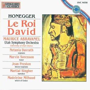 Honegger: Le Roi David (46 Class Of)
