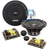 SA-6.5 CS V.2 - Sundown Audio 6.5 100W RMS Component Speakers System