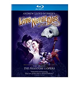 Cover Image for 'Andrew Lloyd Webber's Love Never Dies'